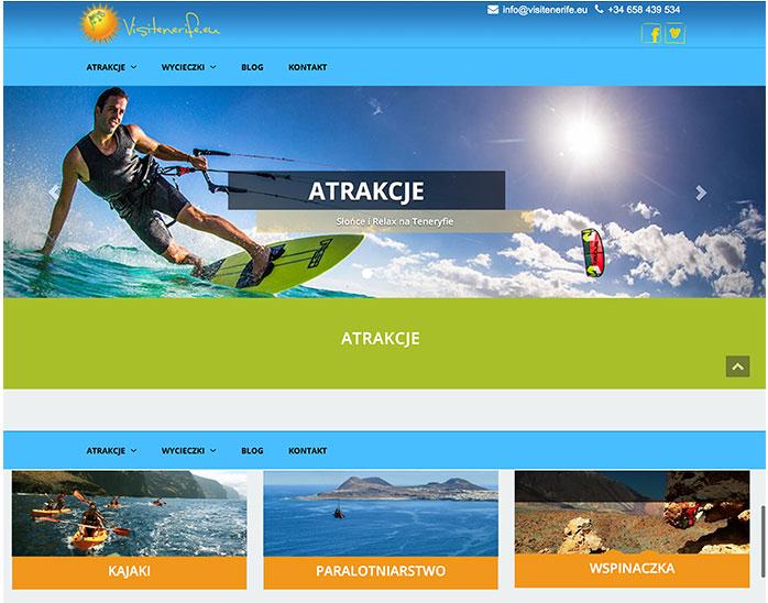 Tenerife holidays portal